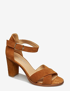 Silke cross - TAN SUEDE
