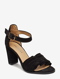 Silke wave - BLACK SUEDE
