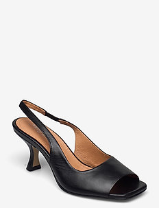 Aria - sling backs - black