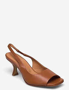 Aria - sling backs - tan
