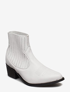 Cruz leather - WHITE