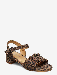 Holly - LEOPARD SUEDE