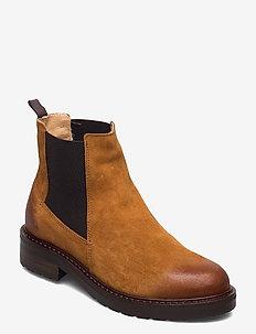 Jemma wool - chelsea boots - tan suede