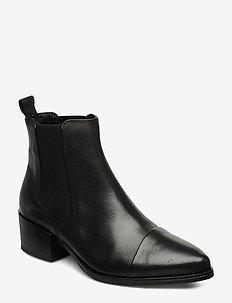 Parker - ankelstøvler med hæl - black