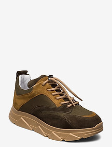 Portia Gum - chunky sneakers - green combo