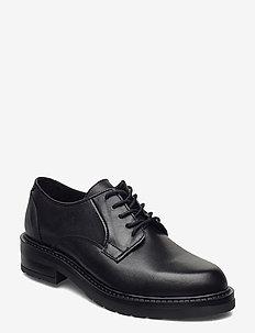 Clara - buty sznurowane - black