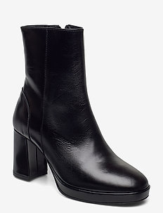 Asta - ankle boots with heel - black