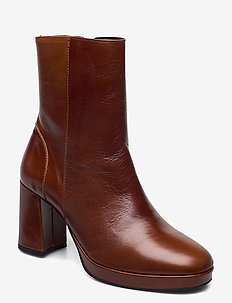 Asta - ankle boots with heel - tan