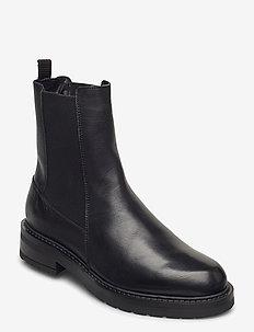 Jemma Long wool - chelsea boots - black garda