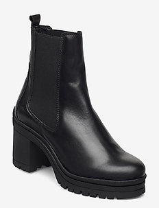 Molly - ankle boots with heel - black