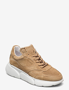 Cleo suede - lave sneakers - taupe suede