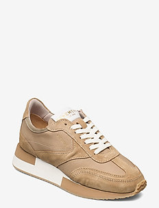 Ellie - lave sneakers - taupe