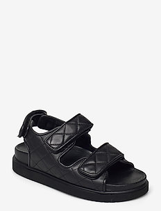 Luciana - flache sandalen - black
