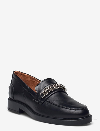 Remi - loafers - black/silver