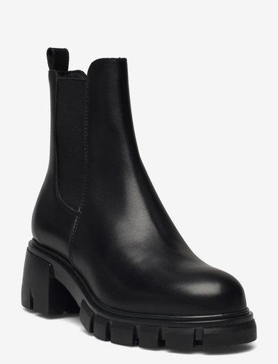 Linea - chelsea støvler - black garda