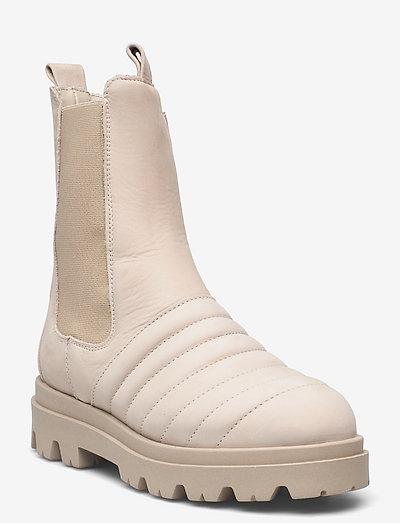 Betta nubuck - chelsea boots - nude nubuck