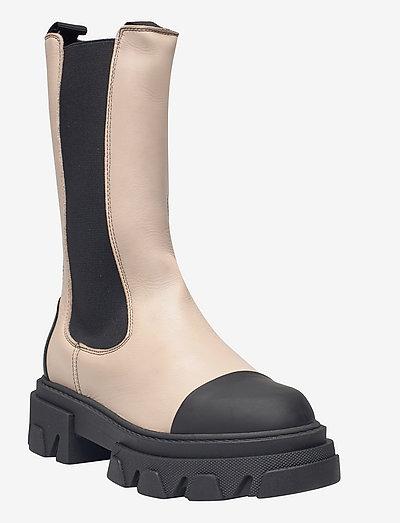 Teresa - chelsea boots - nude