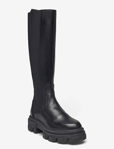 Beatrice - lange stiefel - black