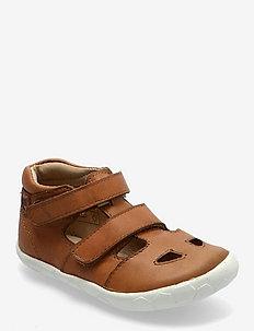VISTAS - sandals - cognac