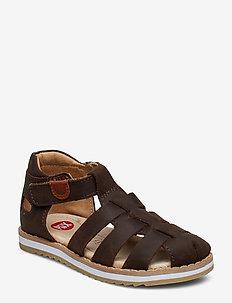 KRABAT - sandals - brown