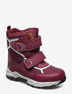 DANTE PAX KÄNGA - vinter boots - rumba rÖd