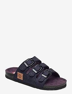 EDDA PAX SANDAL - slippers - blue