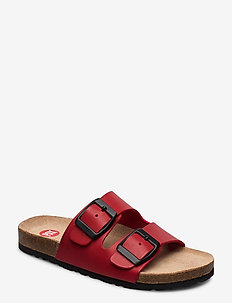 PIKA PAX SANDAL - slippers - red