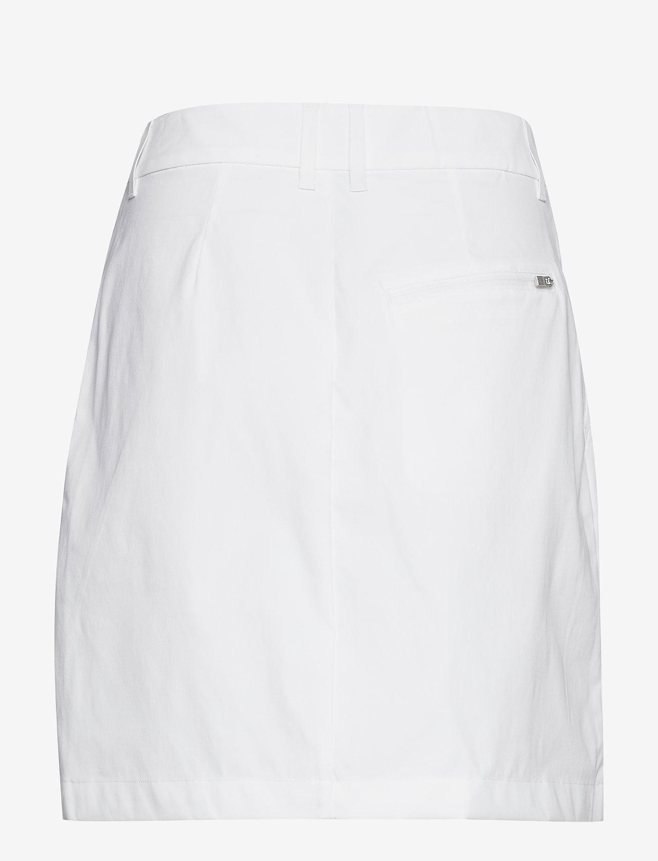Peak Performance - W Illusion Skirt - treningsskjørt - white - 1
