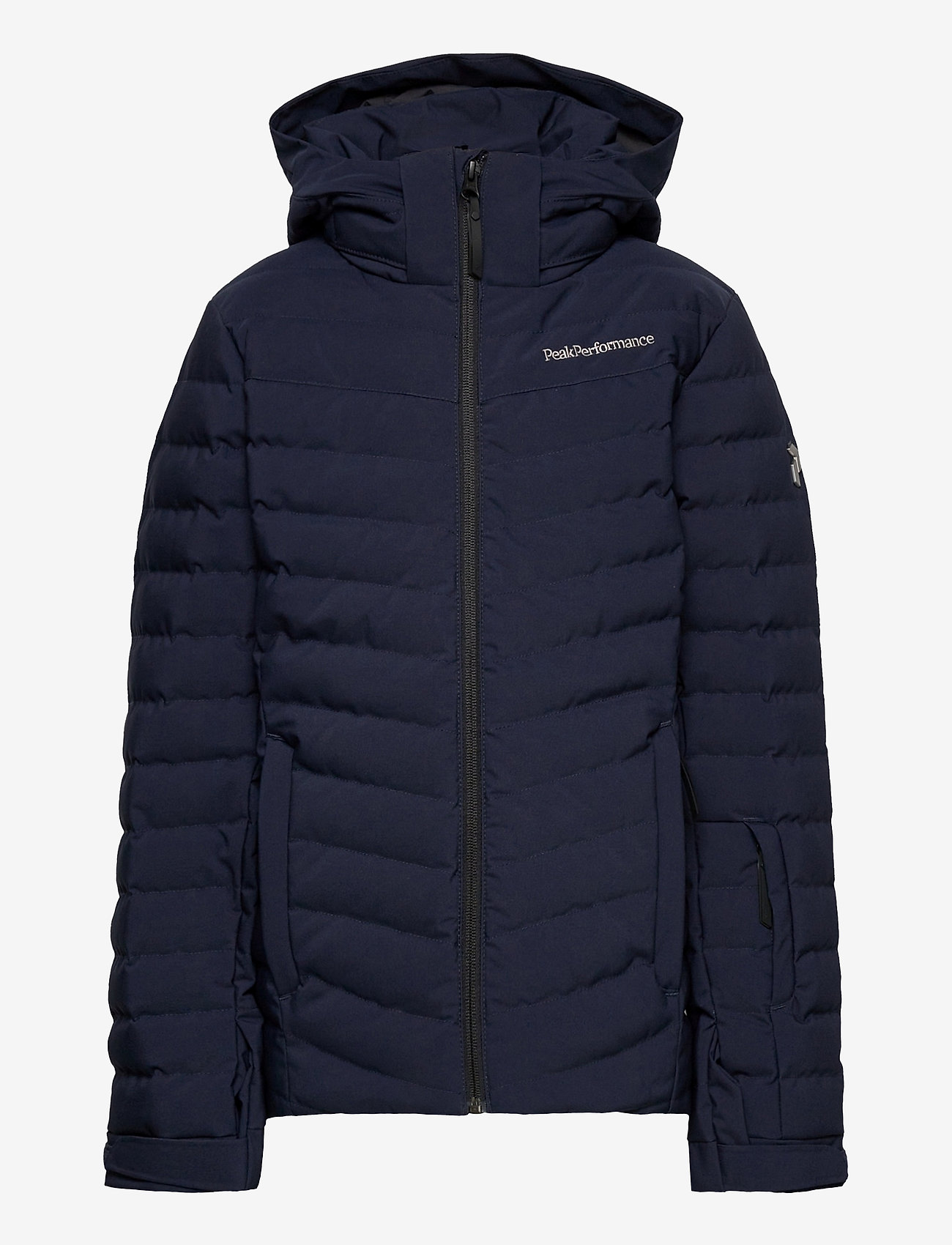 Peak Performance - Jr Frost Ski Jacket Cold Blush - gewatteerde jassen - blue shadow - 0