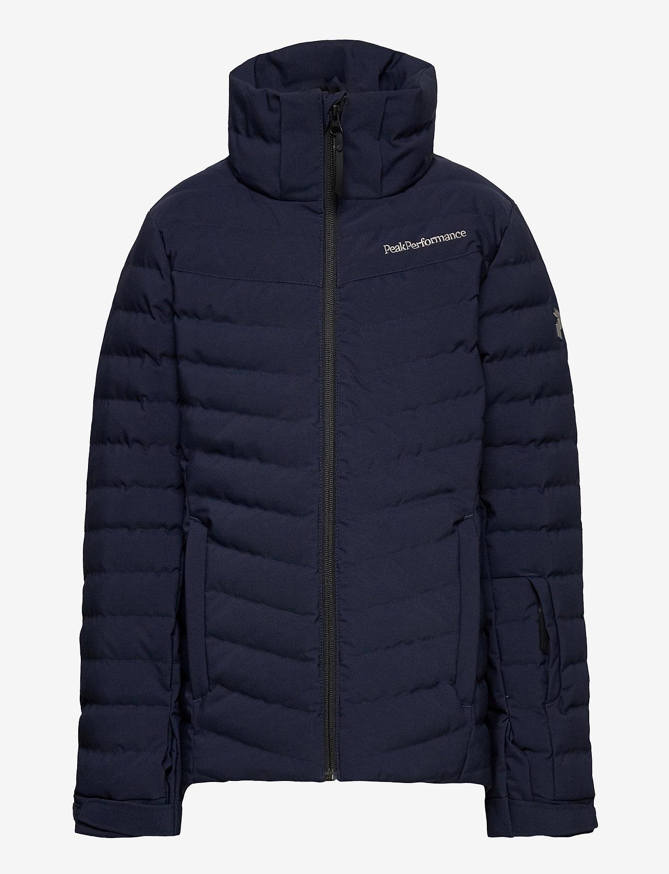 Peak Performance - Jr Frost Ski Jacket Cold Blush - gewatteerde jassen - blue shadow - 1
