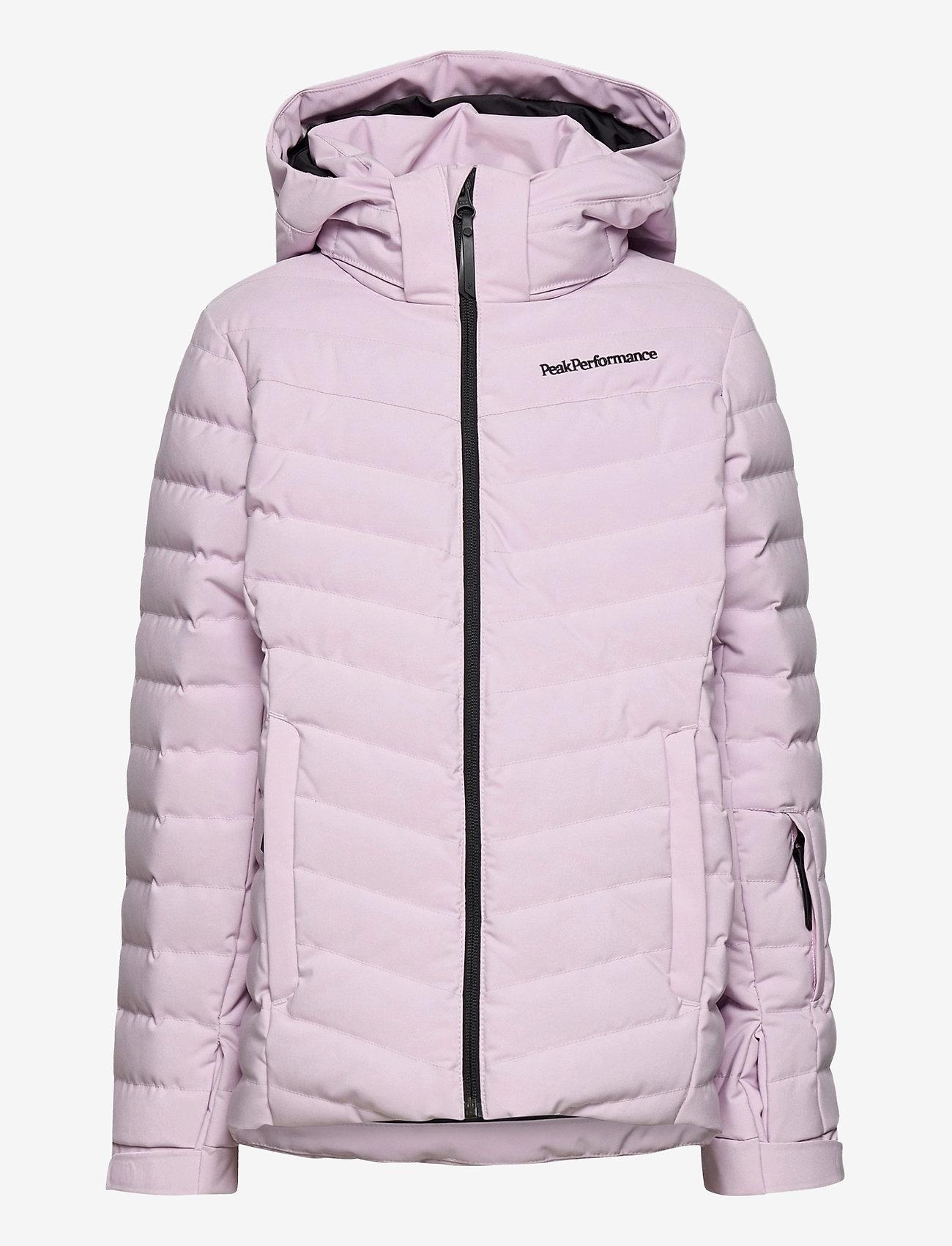 Peak Performance - Jr Frost Ski Jacket Cold Blush - gewatteerde jassen - cold blush - 0