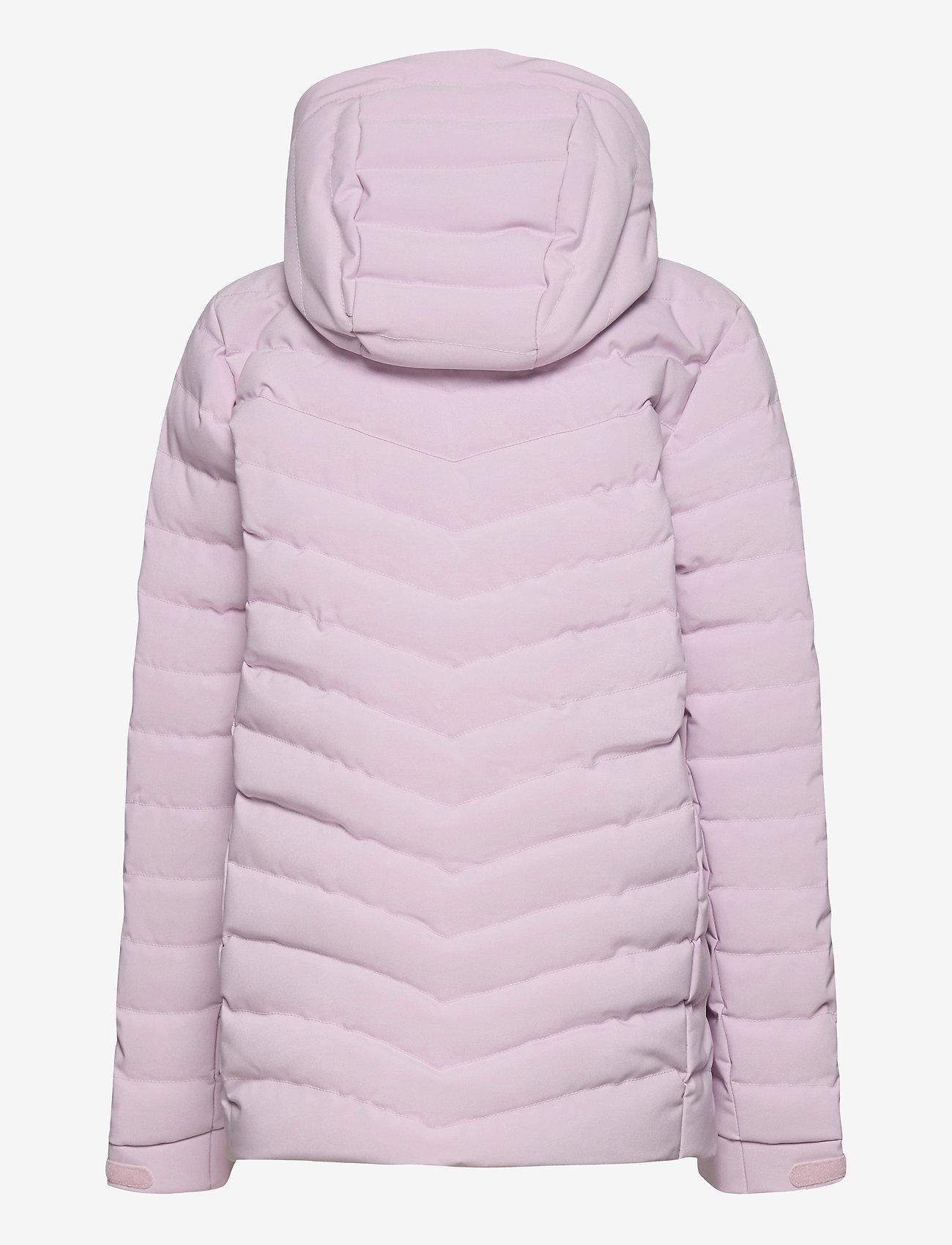 Peak Performance - Jr Frost Ski Jacket Cold Blush - gewatteerde jassen - cold blush - 1