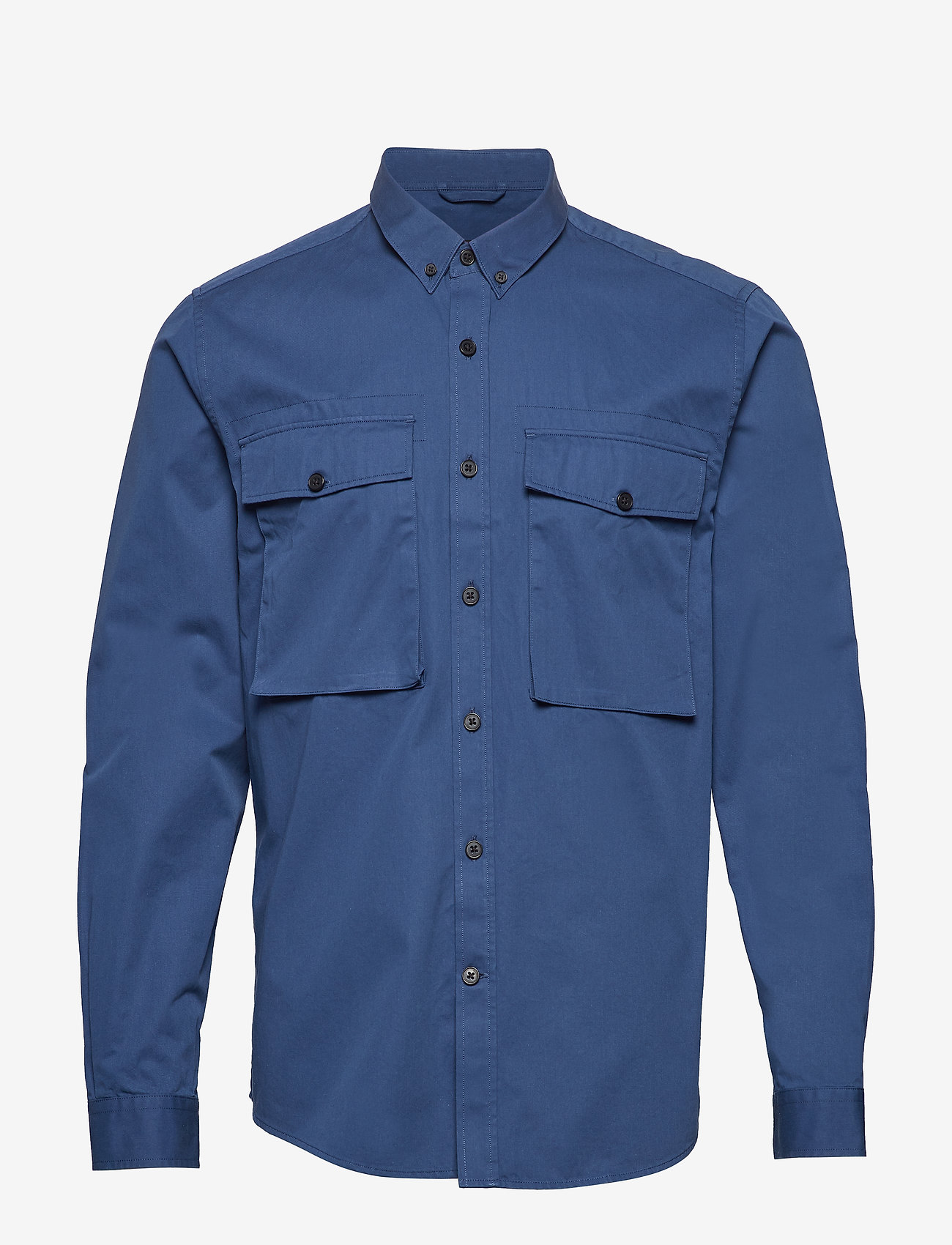 Peak Performance - DEAN MILIS - denim overhemden - decent blue - 0