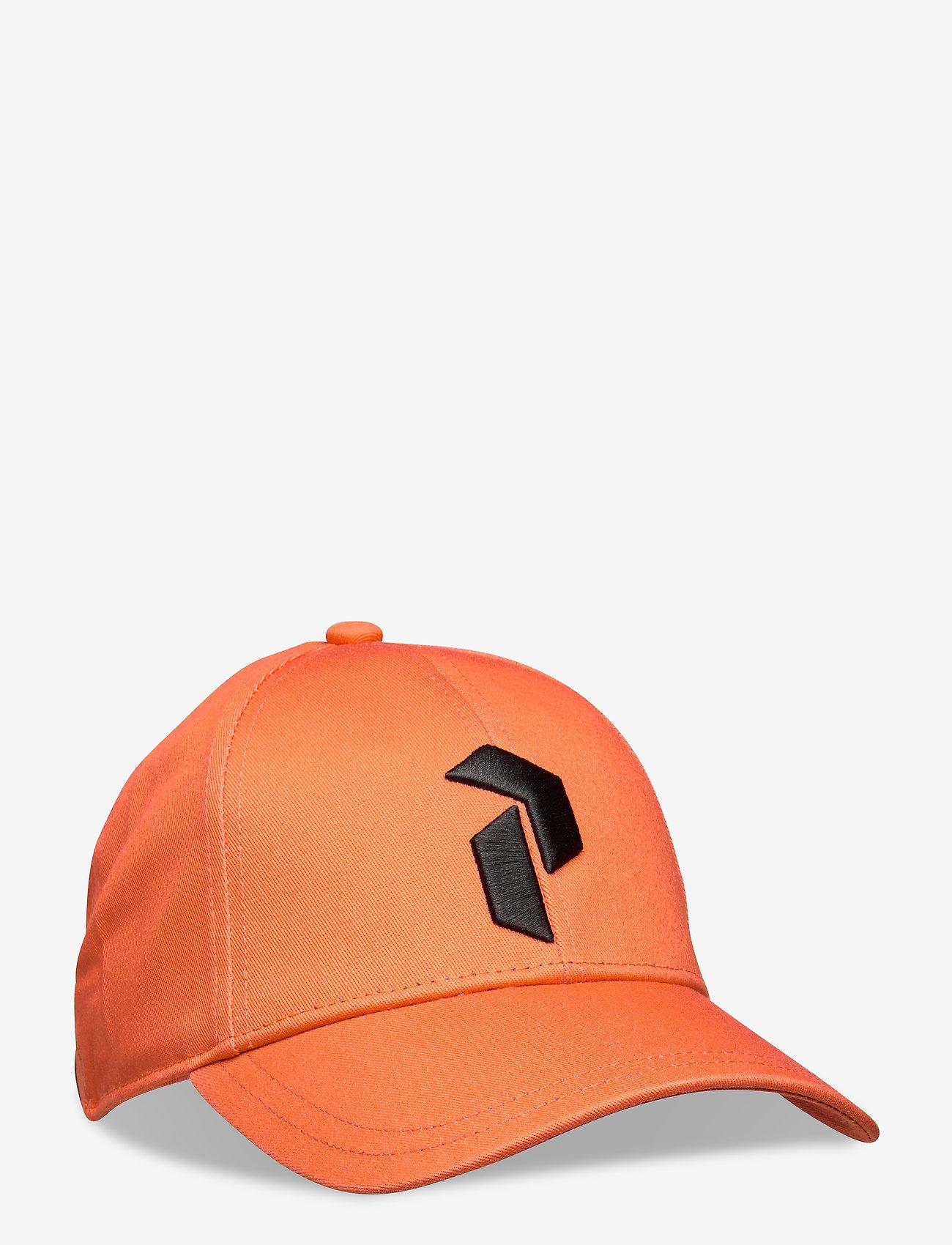 Peak Performance - Retro Cap - caps - clay red - 0
