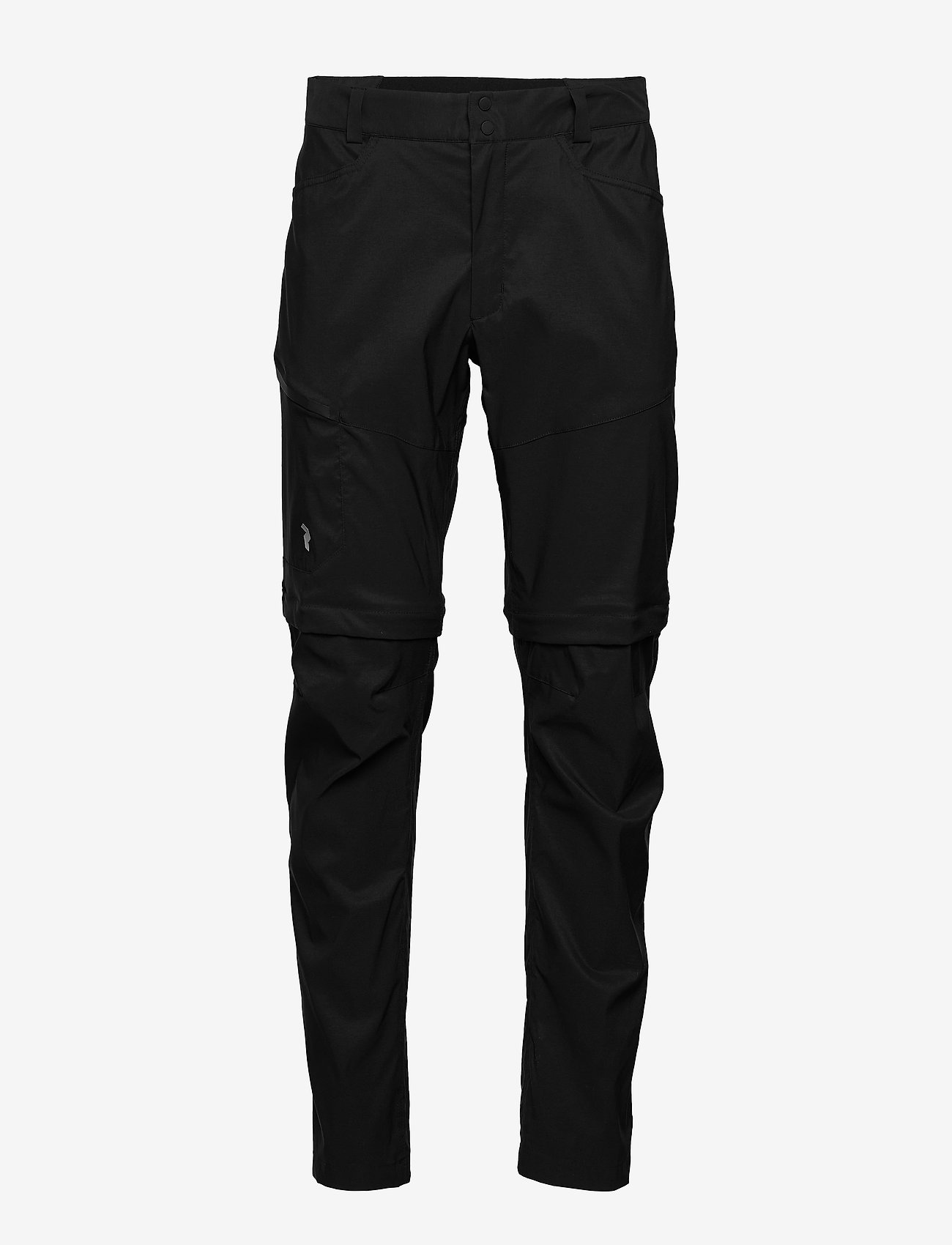 Peak Performance - M Iconiq Zip Pants - spodnie turystyczne - black - 0