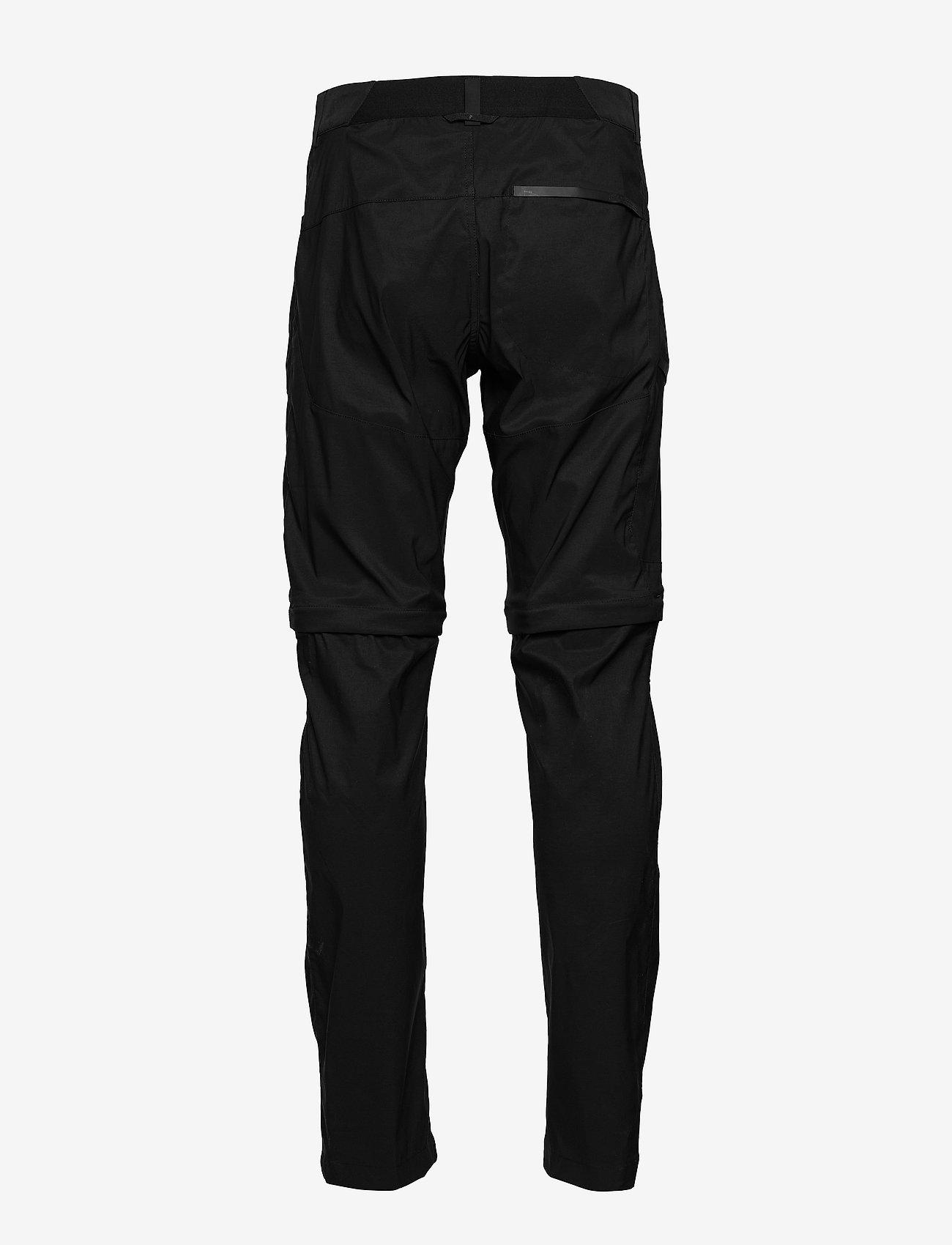 Peak Performance - M Iconiq Zip Pants - spodnie turystyczne - black - 1