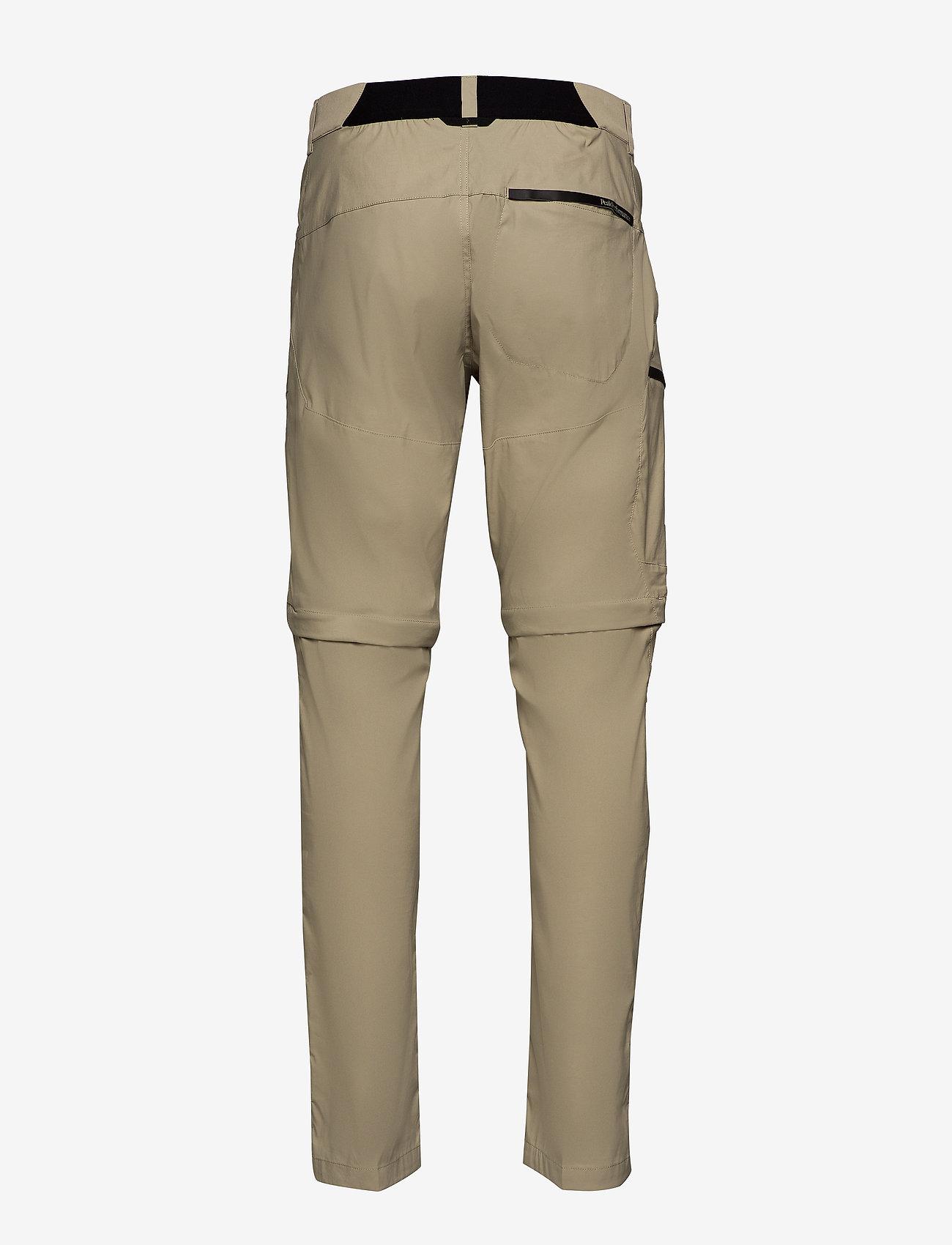 Peak Performance - M Iconiq Zip Pants - spodnie turystyczne - desert terrain - 1