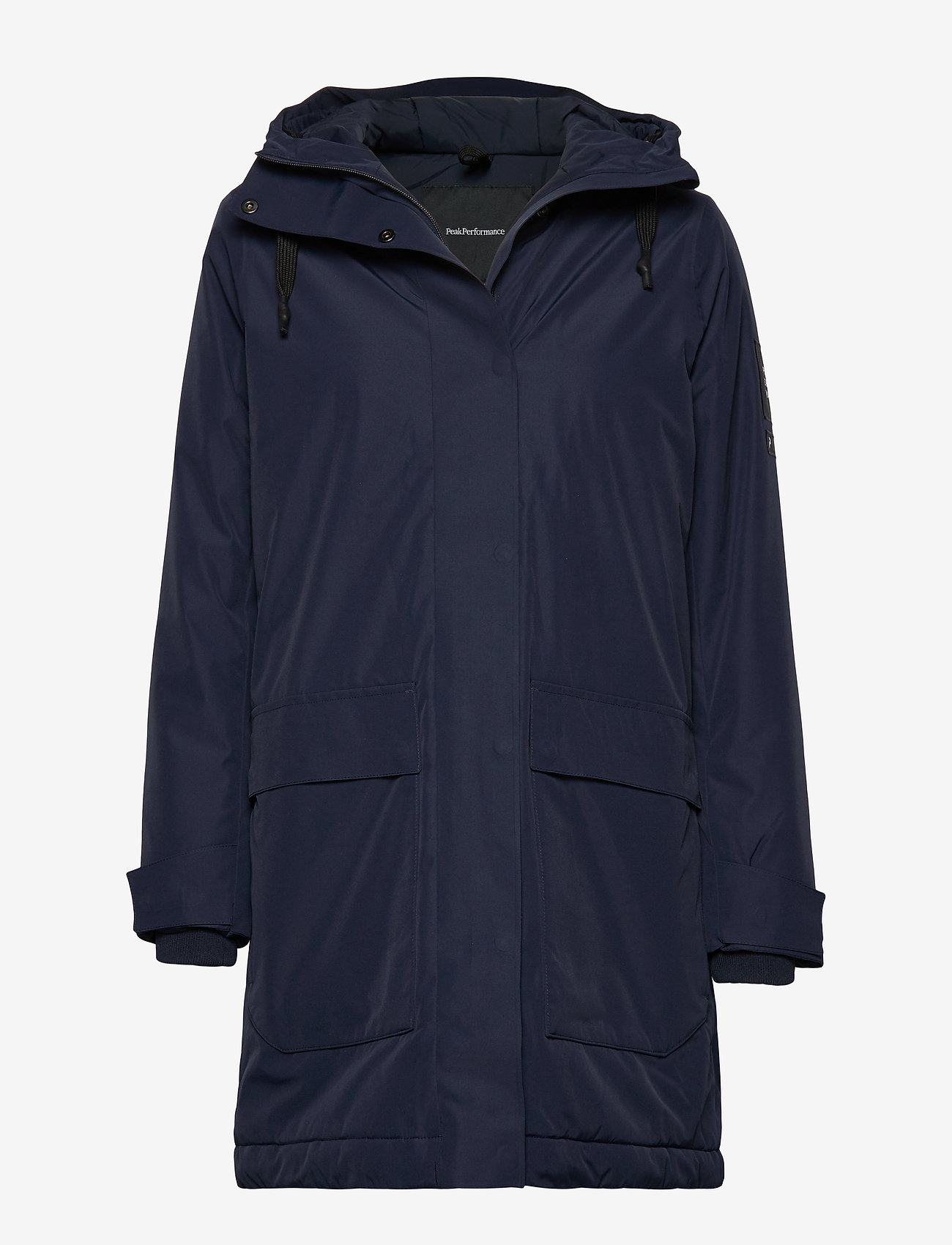Peak Performance - W UNIT J - parka coats - blue shadow - 0