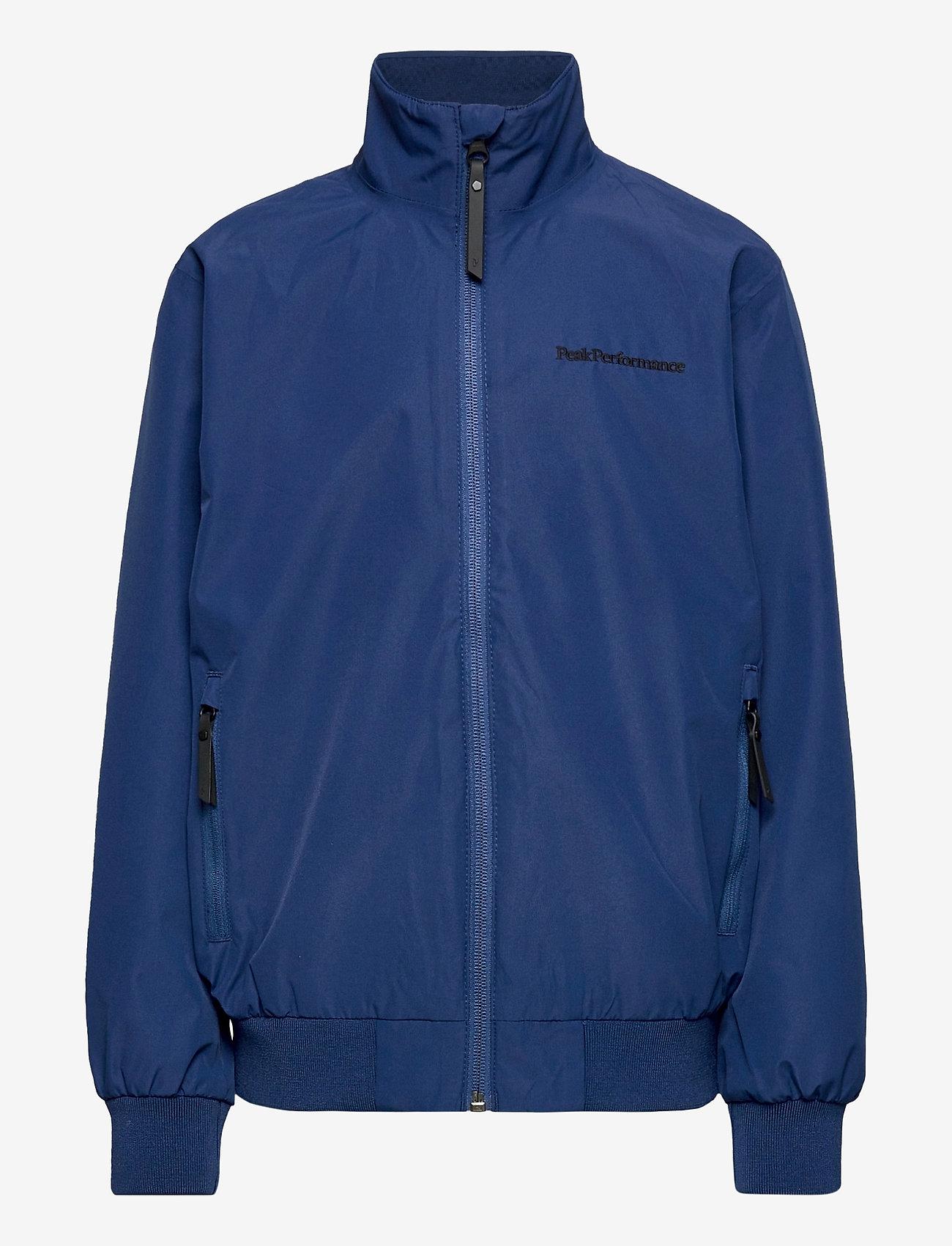 Peak Performance - JRCOASTALJ  - veste coupe-vent - cimmerian blue - 0