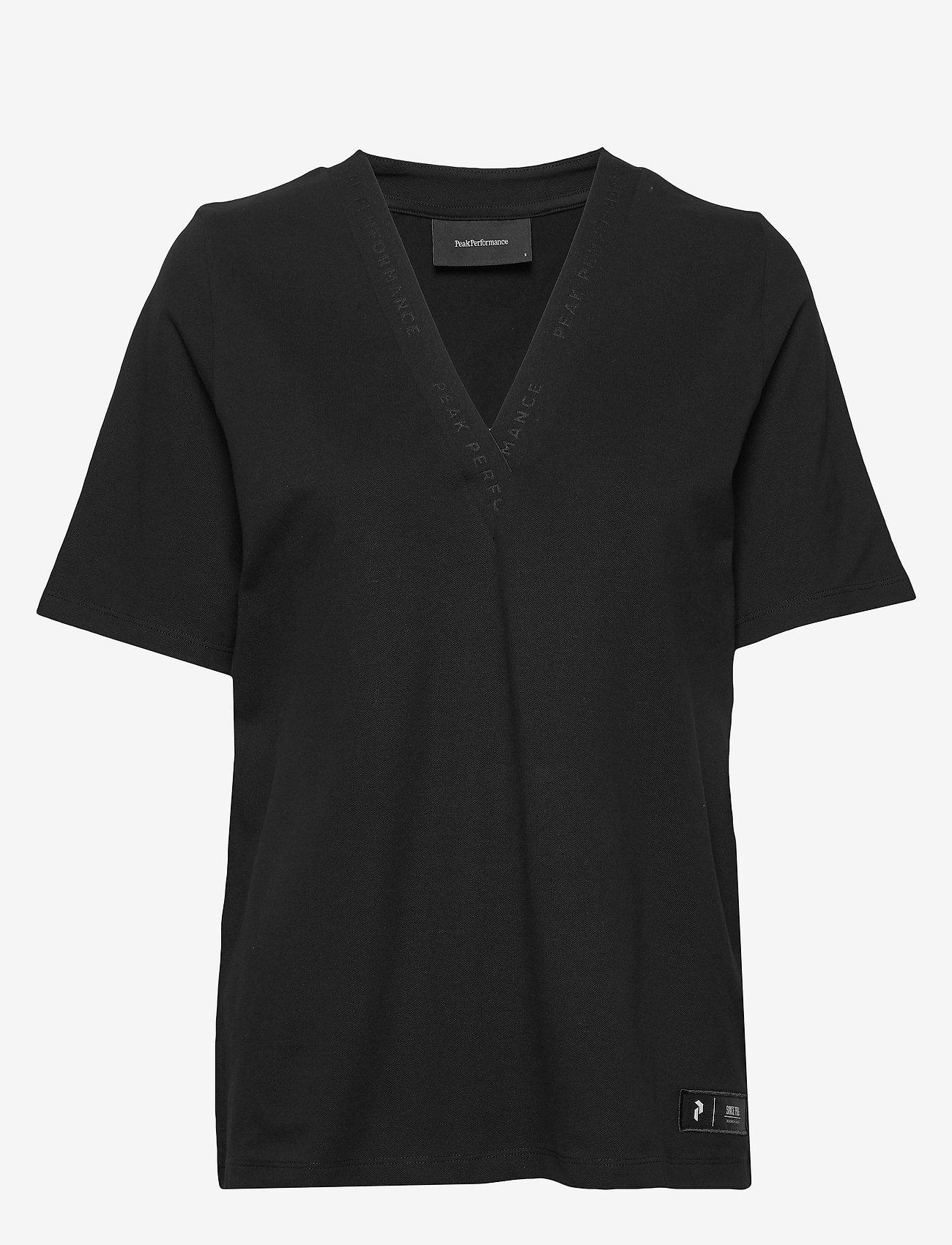 Peak Performance W Tech VN - T-shirty i zopy BLACK - Kobiety Odzież.
