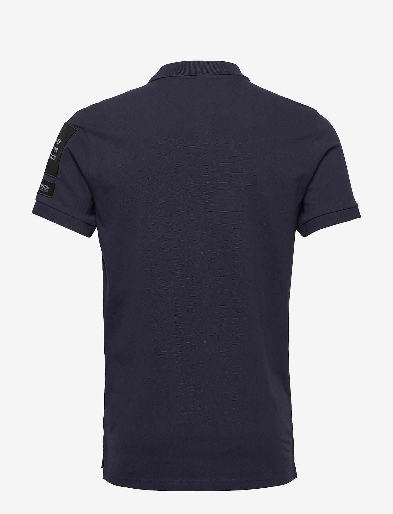 Peak Performance M Tech Pique - Poloskjorter BLUE SHADOW - Menn Klær