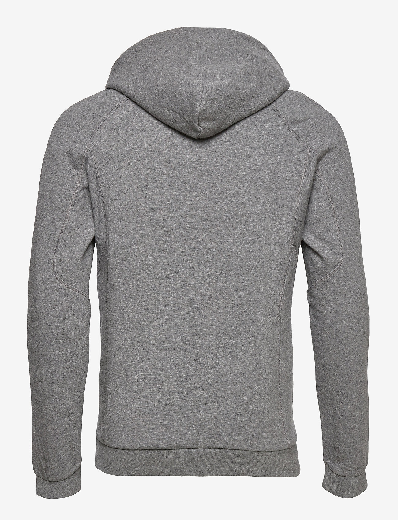 Peak Performance M Ground Hood Black - Sweatshirts GREY MELANGE - Menn Klær