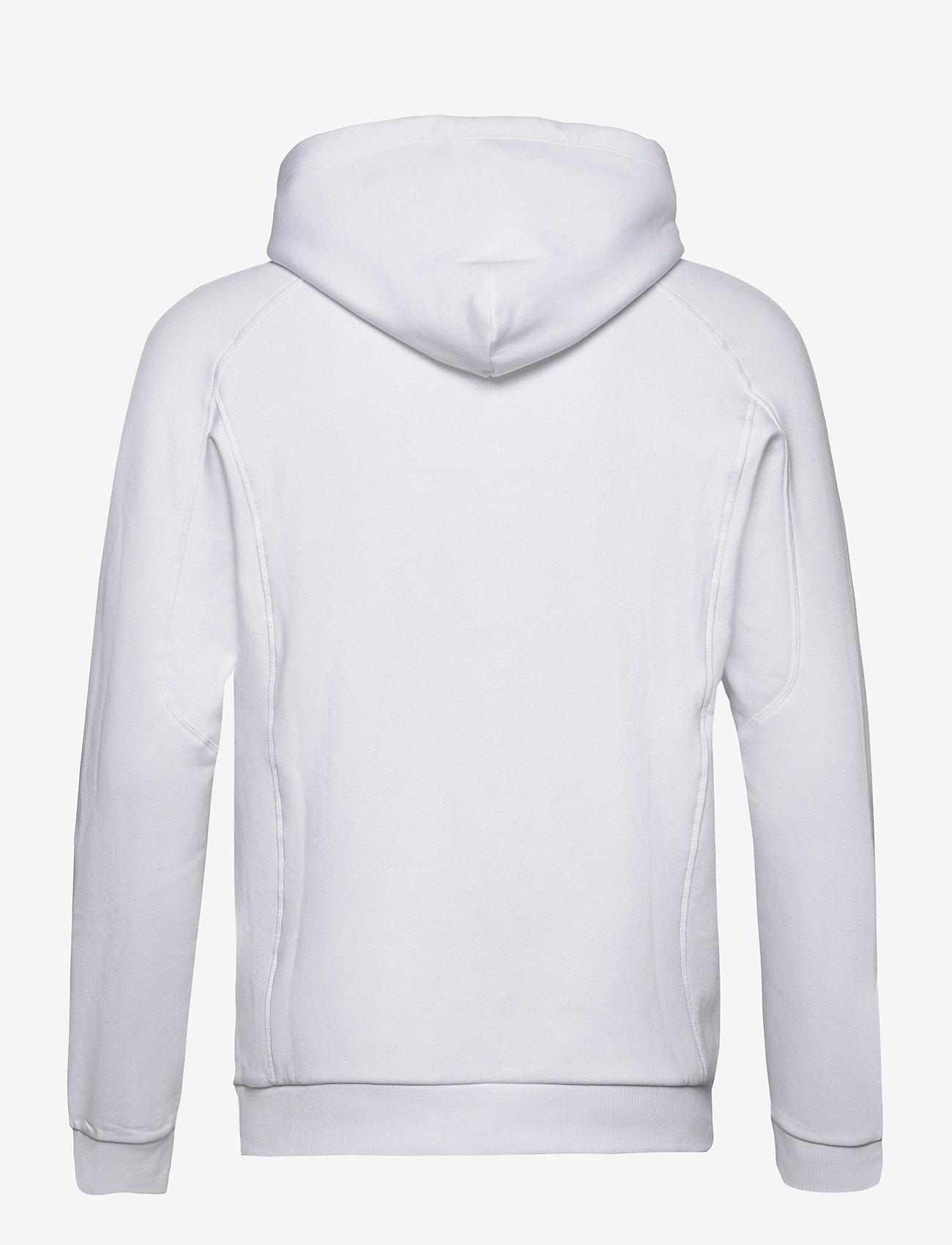 Peak Performance M Ground Hood Black - Sweatshirts WHITE - Menn Klær