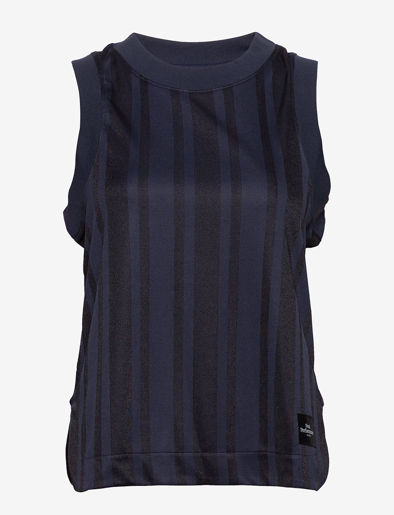 Peak Performance - W Tech Cropped Tank - podkoszulki bez rękawów - blue shadow - 0