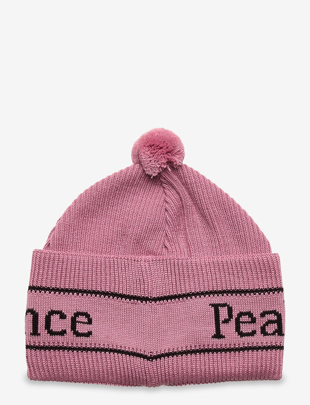 Peak Performance - Aura Hat Coniferous Green - mutsen - frosty rose - 1