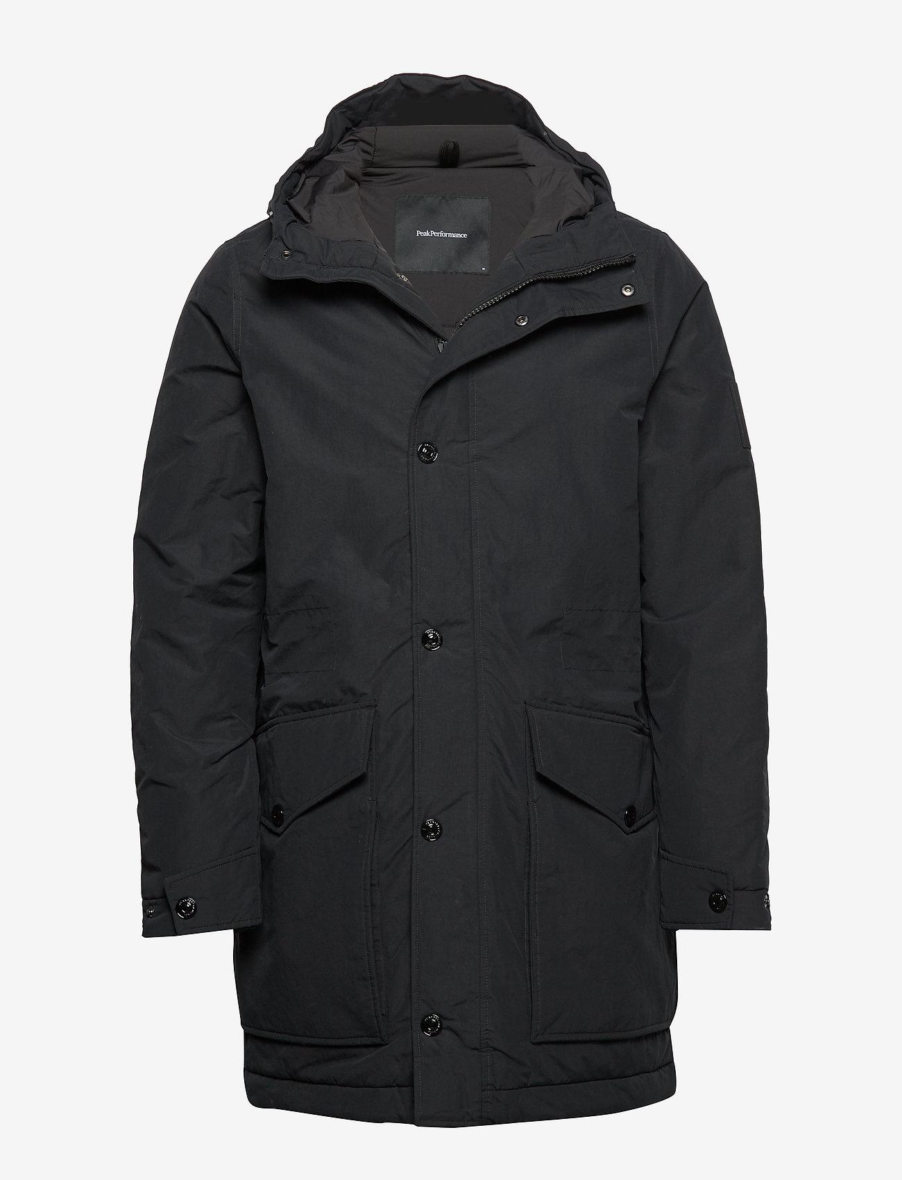 Peak Performance - TYPHON J - insulated jackets - black - 0