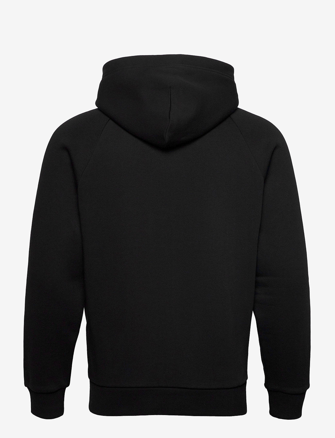 Peak Performance - M Original Zip Hood The Alpine - basic sweatshirts - black - 1
