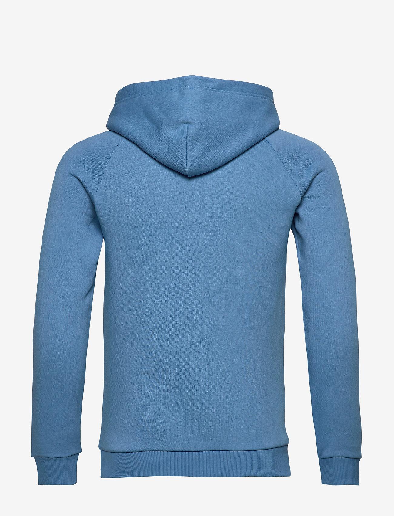 Peak Performance - W Original Hood Cold Blush - hupparit - blue elevation - 1