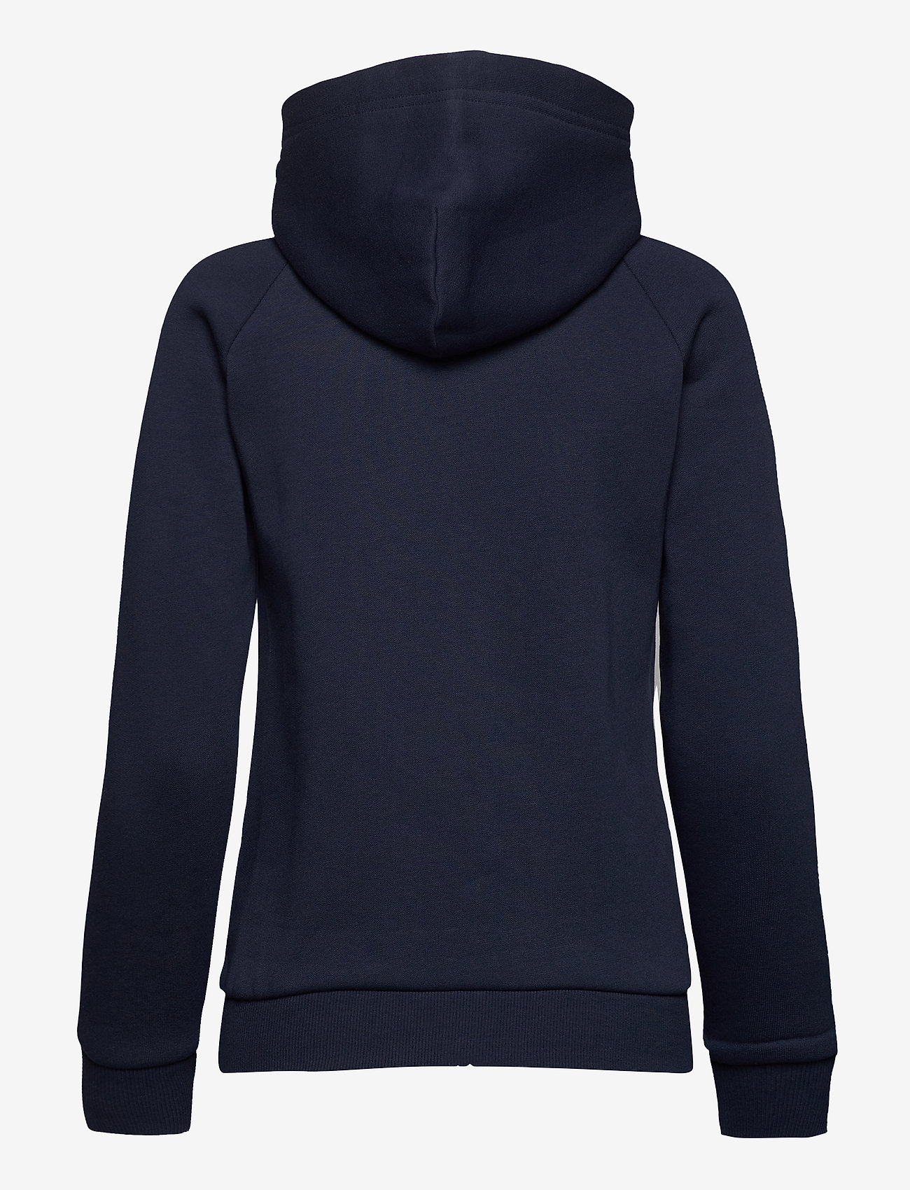 Peak Performance - W Original Zip Hood Med Grey Mel - hupparit - blue shadow - 1
