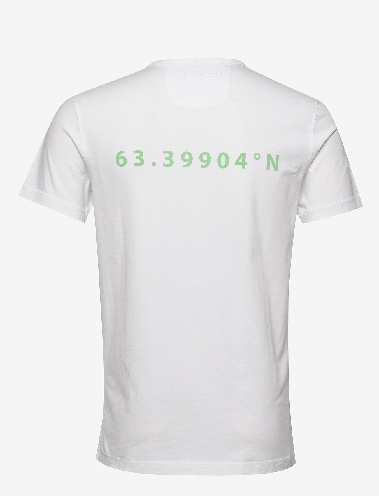 Peak Performance M Karta Tee - T-skjorter WHITE - Menn Klær